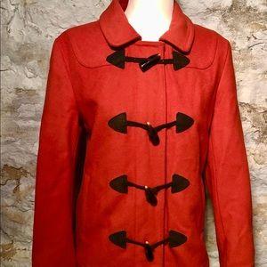 Gap Wool Coat- Orange